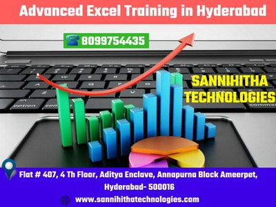 Excel Training in Hyderabad With Job Placement