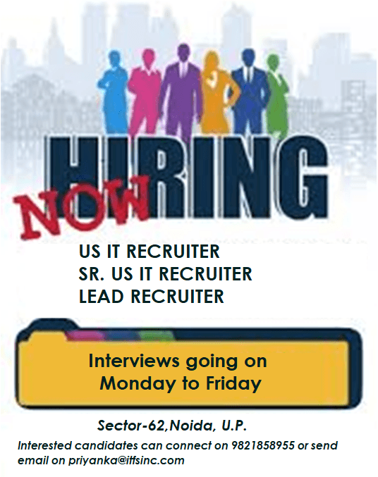 USA IT Recruiter At IT First Source