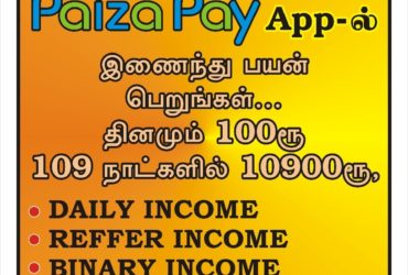 Investment Based Daily Income - Paiza Pay