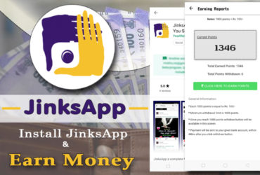 Earn Upto 10,000 Per Month From Your Android Mobile - JinksApp