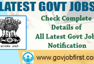 Latest Government Job Notifications For Free