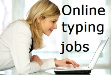 Online Data Typing Job