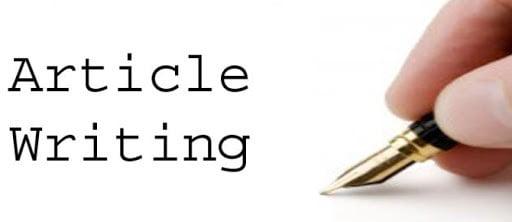 Freelancer Article Writing Jobs